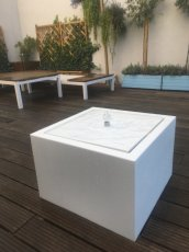 Watertafel Aluminium